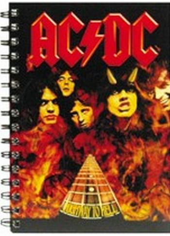 A5 Ring Notizbuch - AC/DC