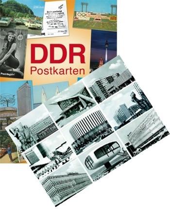 DDR Postkarten - Set B/W