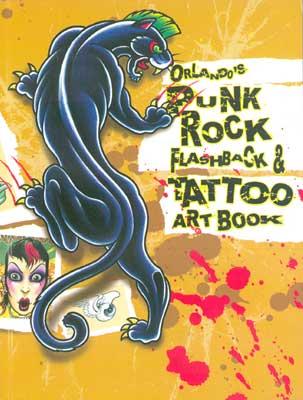 Orlando's Punk Rock & Tattoo Art Book