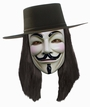 Anonymous Maske - V for Vendetta