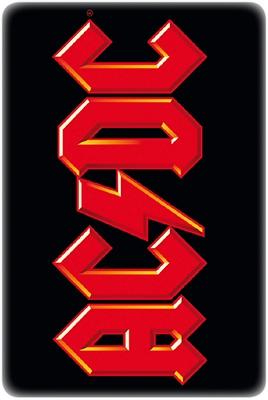 Blechschild - AC/DC