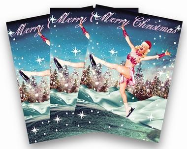 Weihnachtskarten Max Hernn Eist�nzerin