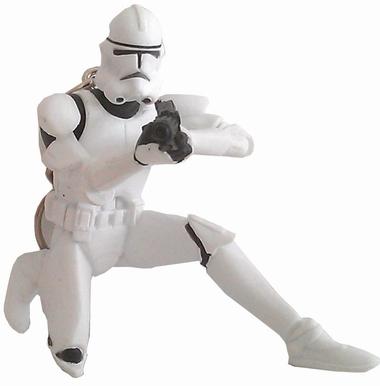 Clonetrooper Star Wars Schlüsselanhänger -  Sammelfiguren
