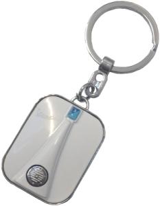 Vespa Schlüsselanhänger Front - Weiss
