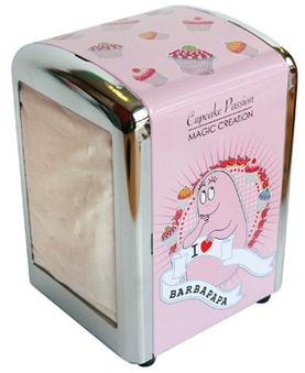 Barbapapa Serviettenspender - Cupcake Passion