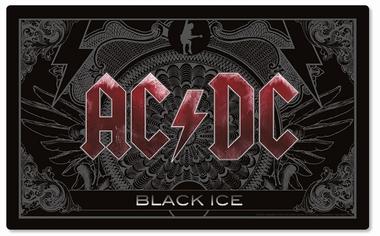 Frühstücksbrettchen - AC/DC Black Ice