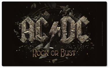 Frühstücksbrettchen - AC/DC Rock or Bust