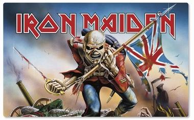 Frühstücksbrettchen - Iron Maiden Trooper