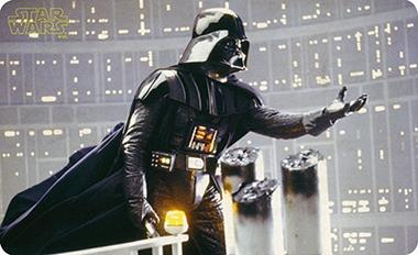 Frühstücksbrettchen - Star Wars - Darth Vader - The Force