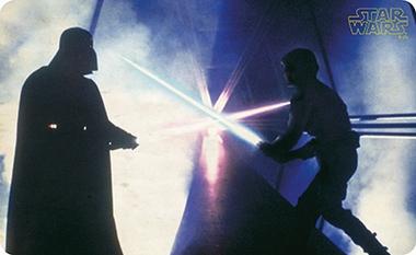 Frühstücksbrettchen - Star Wars - Vader Luke Lightsaber Battle