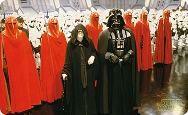 Frühstücksbrettchen - Star Wars - Vader with Palpatine and Red Guards