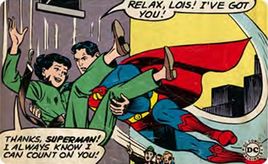 Frühstücksbrettchen - You can count on Superman - DC Comics