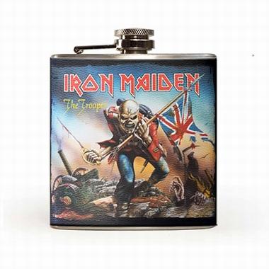 Iron Maiden Flachmann - The Trooper