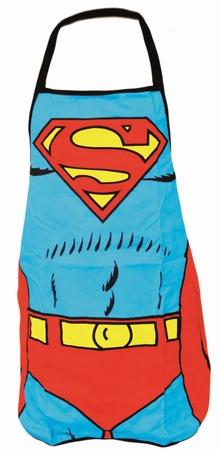 Küchenschürze - Superman - Anzug