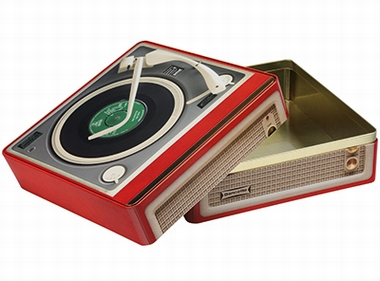 Blechdose Record Player