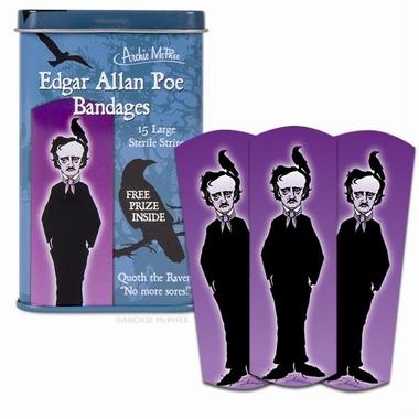 Edgar Allan Poe Pflaster