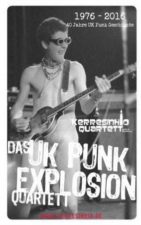 Das UK Punk Explosion Quartett