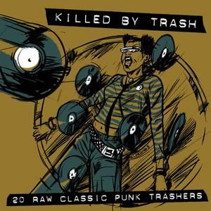 KILLED BY TRASH - V/A - LP  EA80  farb. Vinyl