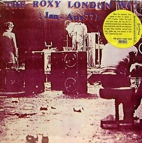 THE ROXY LONDON W.C.2 - Jan - Apr 77 - V/A - LP