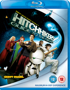 HITCHIKERS GUIDE TO THE GALAXY (BR) - Garth Jennings