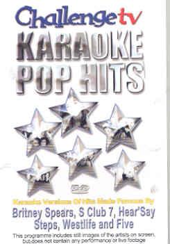 CHALLENGE TV KARAOKE POP HITS (DVD)