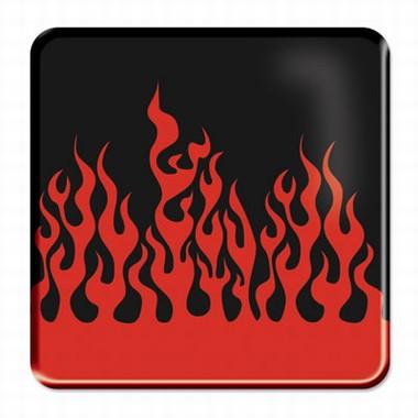 Flammen Fliesenaufkleber