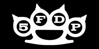 5FDP Five Finger Death Punch Strandlaken
