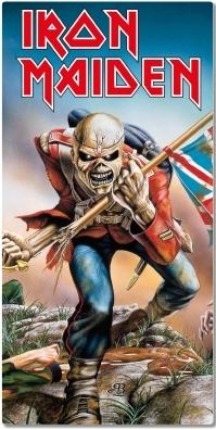Iron Maiden Strandlaken - Eddie the Head