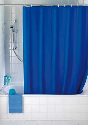 Duschvorhang - Uni Blau