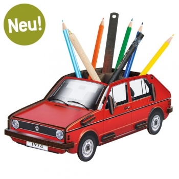 VW Golf 1 Stiftebox - ROT
