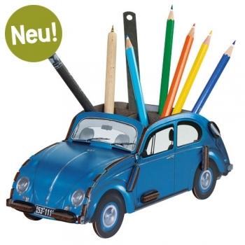 VW Käfer Stiftebox - BLAU