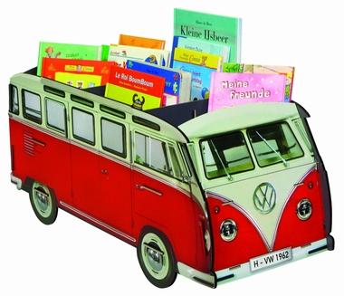 VW T1 - Bücherbus - ROT