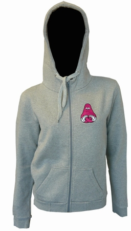 Hoody - Lotus Yod - Grey - Girls Pullover
