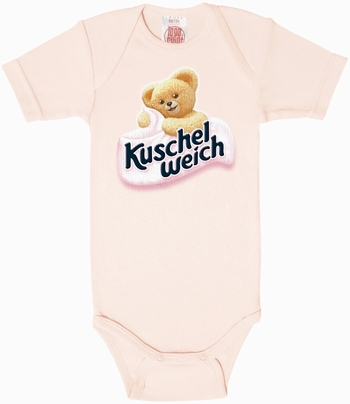 Babybody - Kuschelweich - rosa