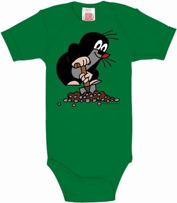 Babybody - Der Kleine Maulwurf - grün