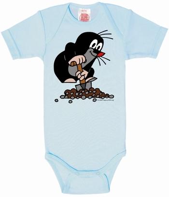 Babybody - Der kleine Maulwurf - Hellblau