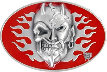 Devil Skull -  Belt Buckle