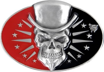 Skull - Vince Ray Belt Buckle