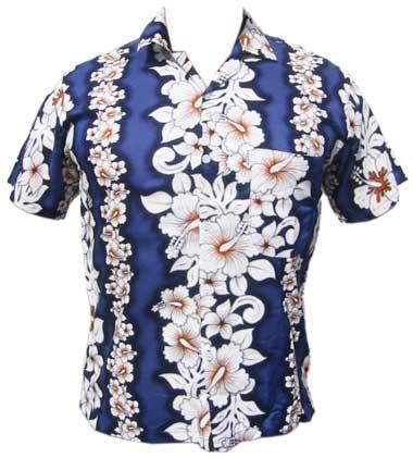 Hibiscus Flower - dunkelblau
