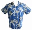 Original Hawaiihemd - Pareau Paradise - blau - Paradise Found Modell: PARPARblau