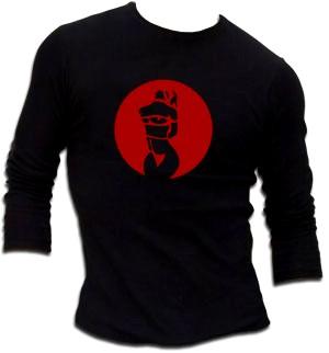 Bound - Schwarz Longsleeve - shirt