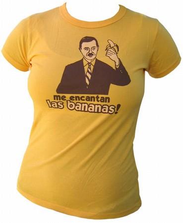 VintageVantage - Bananas  girlie shirt