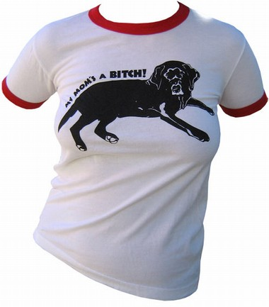 VintageVantage - Bitch girlie shirt