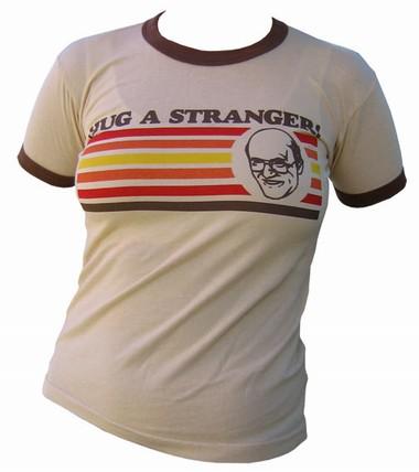 VintageVantage - Hug a stranger girlie shirt