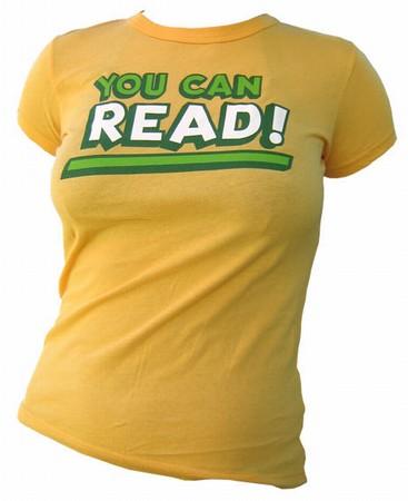 VintageVantage - You can Read girlie shirt