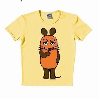 Logoshirt - Maus T-Shirt gelb