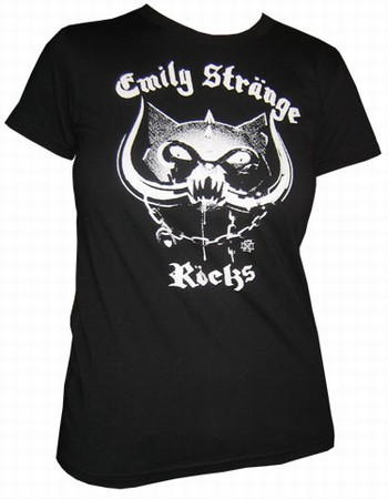 Emily The Strange - Emily Stränge Röcks - Shirt