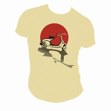 Gettin Forward in Style II (Scooter) - Elfenbein - Shirt