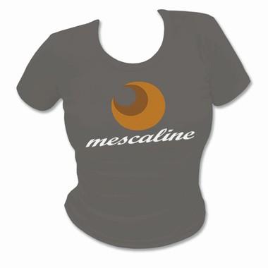Mescaline Girlie Shirt - olivegrau