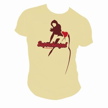 Supercharged - elfenbein - Shirt